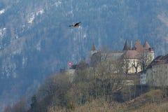 Κάστρο Gruyeres στοκ φωτογραφία με δικαίωμα ελεύθερης χρήσης