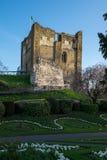 κάστρο guildford Surrey Στοκ Εικόνες
