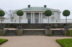 Κάστρο Gunnebo μια πολύ γκρίζα ημέρα Στοκ Εικόνες