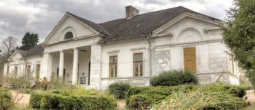 Κάστρο Gyulay στο πάρκο δενδρολογικών κήπων Simeria, Ρουμανία στοκ φωτογραφίες