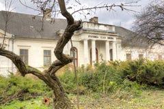 Κάστρο Gyulay στο πάρκο δενδρολογικών κήπων Simeria, Ρουμανία στοκ εικόνες με δικαίωμα ελεύθερης χρήσης