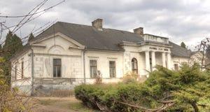 Κάστρο Gyulay στο πάρκο δενδρολογικών κήπων Simeria, Ρουμανία στοκ εικόνα με δικαίωμα ελεύθερης χρήσης