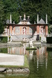 κάστρο hellbrunn Στοκ Εικόνες