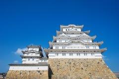 κάστρο Himeji Ιαπωνία Στοκ εικόνες με δικαίωμα ελεύθερης χρήσης