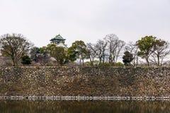 κάστρο Himeji Οζάκα στοκ εικόνα με δικαίωμα ελεύθερης χρήσης