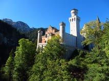 Κάστρο Hohenschwangau Στοκ φωτογραφία με δικαίωμα ελεύθερης χρήσης