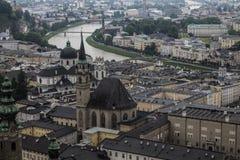 Κάστρο Hohenwerfen, Salzburgh Στοκ εικόνα με δικαίωμα ελεύθερης χρήσης