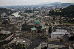 Κάστρο Hohenwerfen, Salzburgh Στοκ φωτογραφίες με δικαίωμα ελεύθερης χρήσης