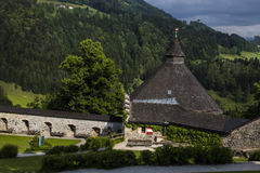Κάστρο Hohenwerfen, Salzburgh Στοκ Φωτογραφία