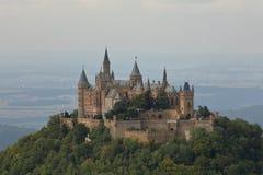 Κάστρο Hohenzollern κοντά σε Hechingen στη Γερμανία Στοκ Εικόνα