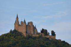 Κάστρο Hohenzollern κοντά σε Hechingen στη Γερμανία Στοκ φωτογραφίες με δικαίωμα ελεύθερης χρήσης