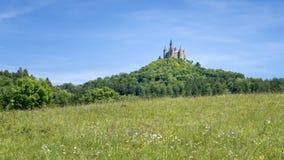 κάστρο hohenzollern Στοκ Εικόνα