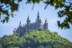 κάστρο hohenzollern Στοκ εικόνα με δικαίωμα ελεύθερης χρήσης