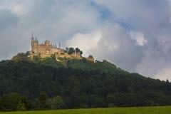 κάστρο hohenzollern Στοκ Φωτογραφία
