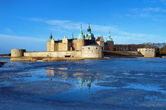 κάστρο kalmar Σουηδία Στοκ εικόνα με δικαίωμα ελεύθερης χρήσης