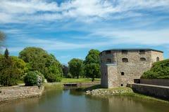 Κάστρο Kalmar στη Σουηδία Σκανδιναβία Ευρώπη Στοκ εικόνα με δικαίωμα ελεύθερης χρήσης