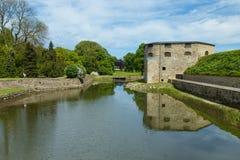 Κάστρο Kalmar στη Σουηδία Σκανδιναβία Ευρώπη Στοκ Φωτογραφίες