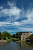 Κάστρο Kalmar στη Σουηδία Σκανδιναβία Ευρώπη Στοκ Εικόνα
