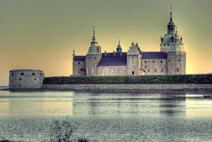 κάστρο kalmar Στοκ εικόνες με δικαίωμα ελεύθερης χρήσης