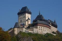 κάστρο karlstejn Στοκ φωτογραφία με δικαίωμα ελεύθερης χρήσης