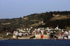κάστρο kilitbahir στοκ εικόνα