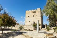 Κάστρο Kolossi στη Λεμεσό, Κύπρος Στοκ Φωτογραφίες
