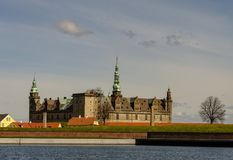 κάστρο kronborg στοκ φωτογραφία