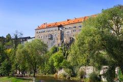 Κάστρο Krumlov Cesky Στοκ Εικόνες
