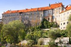Κάστρο Krumlov Cesky Στοκ φωτογραφία με δικαίωμα ελεύθερης χρήσης