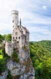 Κάστρο Lichtenstein στη Γερμανία Στοκ εικόνα με δικαίωμα ελεύθερης χρήσης