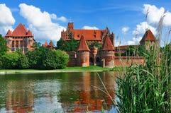 κάστρο malbork Πολωνία Στοκ Εικόνες