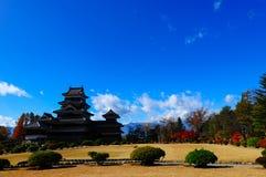 Κάστρο Mastumoto, Ιαπωνία Στοκ φωτογραφία με δικαίωμα ελεύθερης χρήσης
