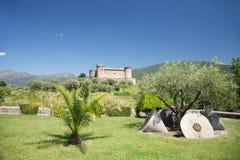 Κάστρο Mombeltran φυσικό στοκ φωτογραφία με δικαίωμα ελεύθερης χρήσης