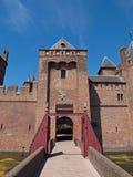 κάστρο muiderslot Στοκ Εικόνες