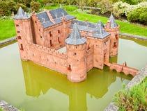 κάστρο muiderslot Στοκ Φωτογραφίες