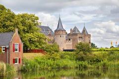 Κάστρο Muiderslot, Muiden, Κάτω Χώρες Στοκ φωτογραφία με δικαίωμα ελεύθερης χρήσης
