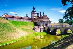 Κάστρο Nesvizh στη Λευκορωσία Στοκ εικόνες με δικαίωμα ελεύθερης χρήσης