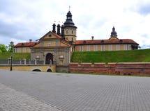 Κάστρο Nesvizh belatedness Στοκ φωτογραφία με δικαίωμα ελεύθερης χρήσης