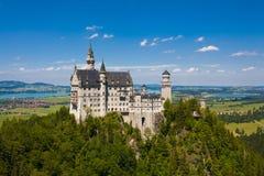 κάστρο neuschwanstein Στοκ Φωτογραφίες