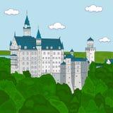 κάστρο neuschwanstein Στοκ Εικόνα
