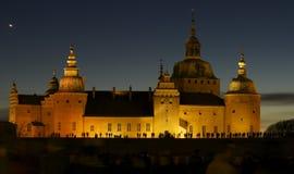 κάστρο nightlight παλαιό Στοκ φωτογραφία με δικαίωμα ελεύθερης χρήσης