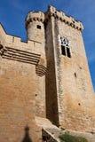 κάστρο olite Στοκ Εικόνες