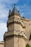 κάστρο olite Στοκ φωτογραφία με δικαίωμα ελεύθερης χρήσης