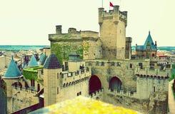 κάστρο olite Στοκ εικόνα με δικαίωμα ελεύθερης χρήσης