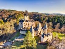 Κάστρο Ottenstein σε Waldviertel, χαμηλότερη Αυστρία Στοκ Εικόνες