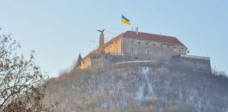 κάστρο palanok Στοκ φωτογραφία με δικαίωμα ελεύθερης χρήσης