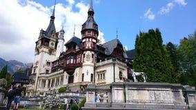 Κάστρο Peles, θερινή κατοικία της βασιλικής οικογένειας της Ρουμανίας στοκ εικόνα με δικαίωμα ελεύθερης χρήσης