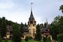 κάστρο peles Ρουμανία Στοκ Εικόνα