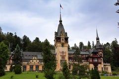 κάστρο peles Ρουμανία Στοκ Εικόνες