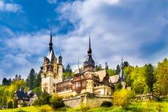 Κάστρο Peles, Sinaia Στοκ εικόνες με δικαίωμα ελεύθερης χρήσης